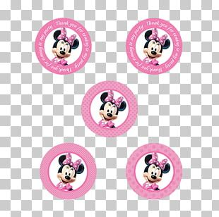 Minnie Mouse Red Ribbon Week PNG