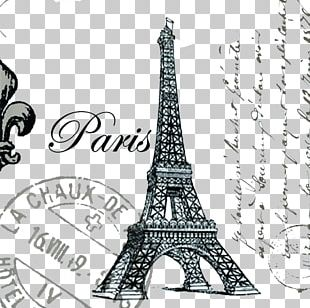 Eiffel Tower Throw Pillow Cushion Couch PNG