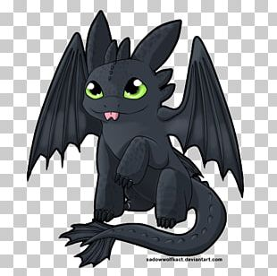 How To Train Your Dragon Chibi Toothless Drawing PNG