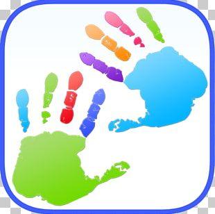 Kids Finger Painting Coloring Fingerpaint Child Art PNG
