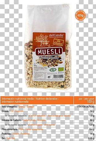 Muesli Breakfast Cereal Oat Crisp Nuts PNG
