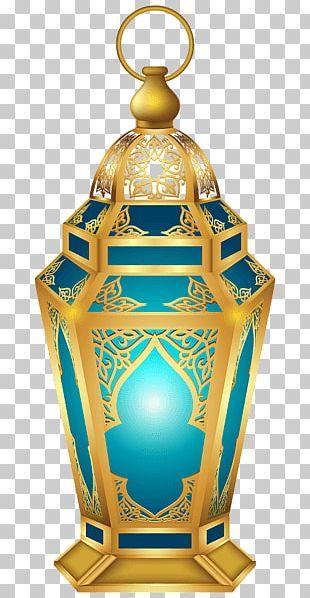 Blue Lantern Diwali PNG