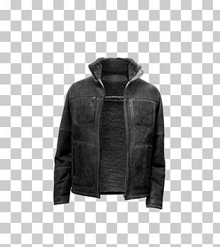 Hoodie Leather Jacket Coat Daunenjacke Uniqlo PNG