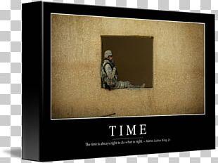 Motivational Poster Frames Time PNG
