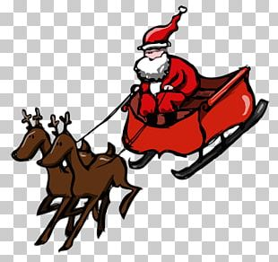 Santa Claus Reindeer A Visit From St. Nicholas Mrs. Claus Christmas PNG