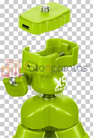 Tripod Green TOY Movie Camera Camcorder PNG