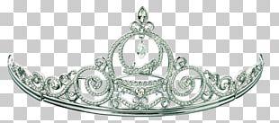 Tiara Brush Crown PNG