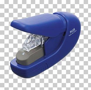 Paper Stapler Plus Corporation Blue PNG