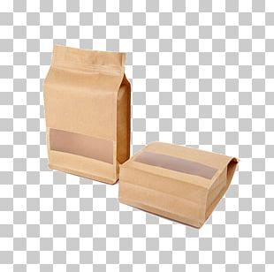 Plastic Bag Packaging And Labeling Paper Bag Kraft Paper PNG