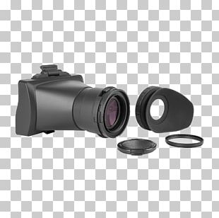 Camera Lens Electronic Viewfinder Magnifying Glass PNG