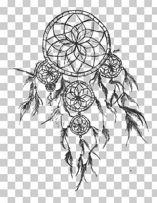 Tattoo Dreamcatcher Drawing Sketch PNG