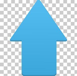 Blue Triangle Symbol Aqua PNG