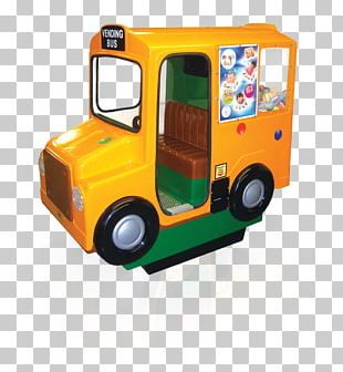 Bus Motor Vehicle Kiddie Ride Vending Machines Amusement Park PNG