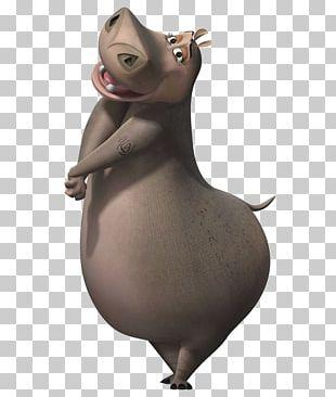 Gloria Melman Skipper Madagascar Character PNG