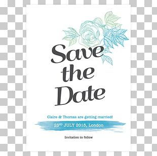 Text Floral Design Convite Save The Date PNG
