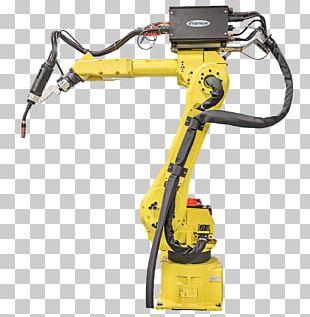 FANUC Robot Welding Robotics Industrial Robot PNG
