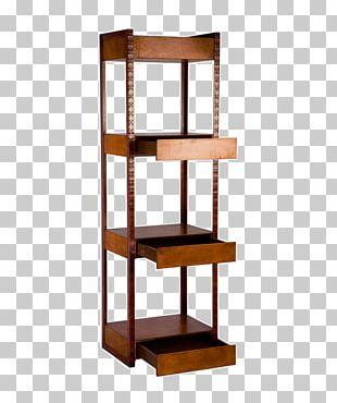 Shelf Bookcase Antique Elle Decor PNG