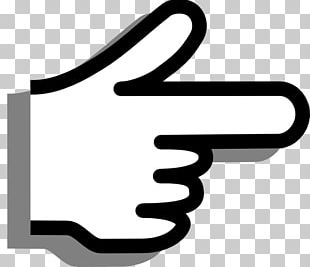 Index Finger Pointing Thumb PNG