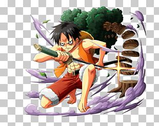 Monkey D. Luffy One Piece Treasure Cruise Tony Tony Chopper Roronoa Zoro PNG
