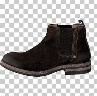 Chelsea Boot Shoe Leather Suede PNG