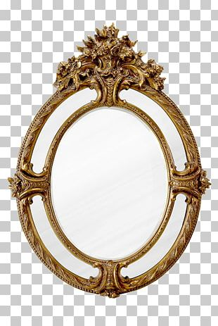 Mirror Frame Decorative Arts PNG