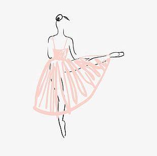 Dancing Figures PNG