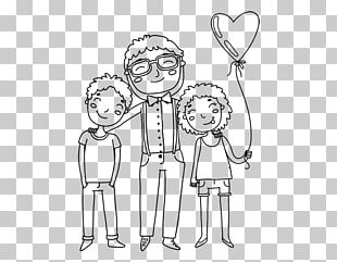 Drawing Father Painting Child Sketch PNG