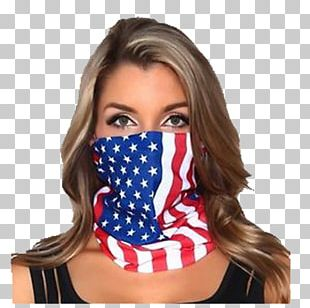 Flag Of The United States Kerchief Mask PNG
