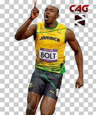 Usain Bolt Sprint Jamaica PNG