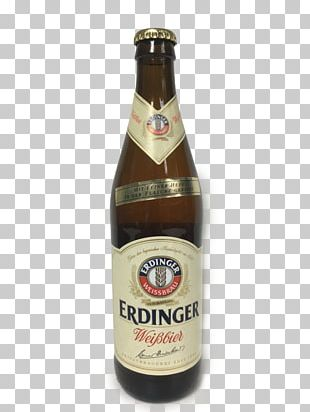 Wheat Beer Erdinger Beer Bottle Distilled Beverage PNG