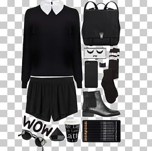 Black And White Clothing PNG