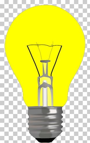 Incandescent Light Bulb Lighting Electric Light Lamp PNG
