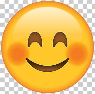Blushing Emoji Smiley Face PNG