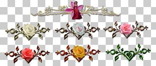 Cut Flowers Body Jewellery Petal Pattern PNG