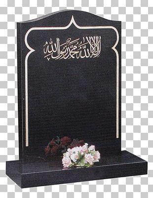 Headstone Grave Memorial Muslim Islam PNG