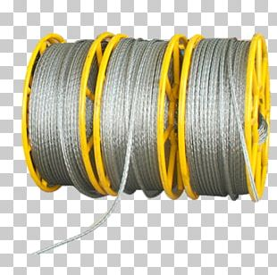 Wire Rope Wire Rope Steel Galvanization PNG