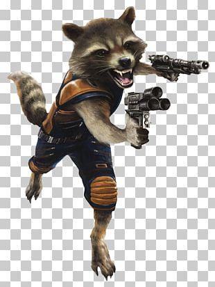 Rocket Raccoon Thanos Star-Lord Groot Nebula PNG