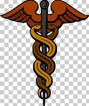 Staff Of Hermes Caduceus As A Symbol Of Medicine Greek Mythology PNG