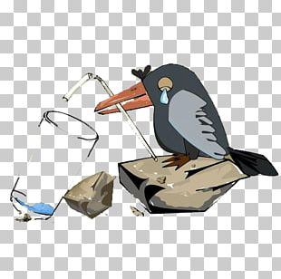 Common Raven Bird Cartoon PNG
