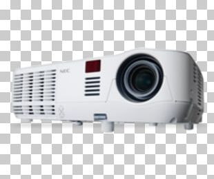 Multimedia Projectors Digital Light Processing NEC Display Solutions Handheld Projector PNG