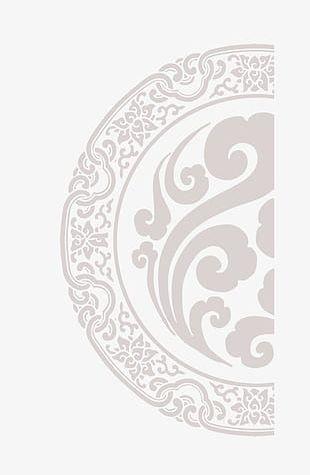 Beautiful Chinese Style Retro Pattern Shading PNG