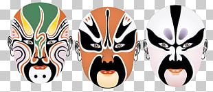 Beijing Peking Opera Make-up Chinese Opera Facial PNG