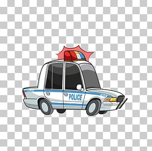 Police Car Car Chase PNG