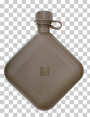 Canteen Military Surplus Bottle Quart PNG