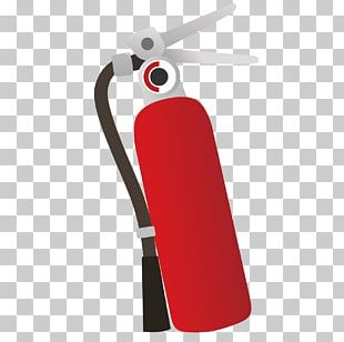 Cartoon Fire Extinguisher Drawing Firefighting PNG