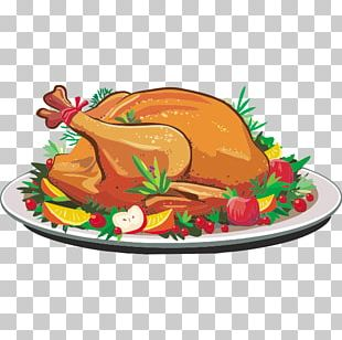 Thanksgiving Dinner Turkey Meat PNG