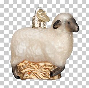 Sheep Unessasary Christmas Ornament Goat Livestock PNG