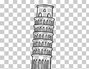 Leaning Tower Of Pisa Eiffel Tower Drawing Monument PNG