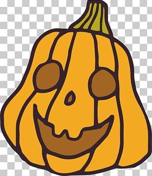 Hand Painted Pumpkin PNG