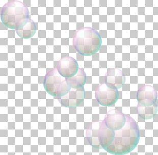 Soap Bubble Light Sphere PNG